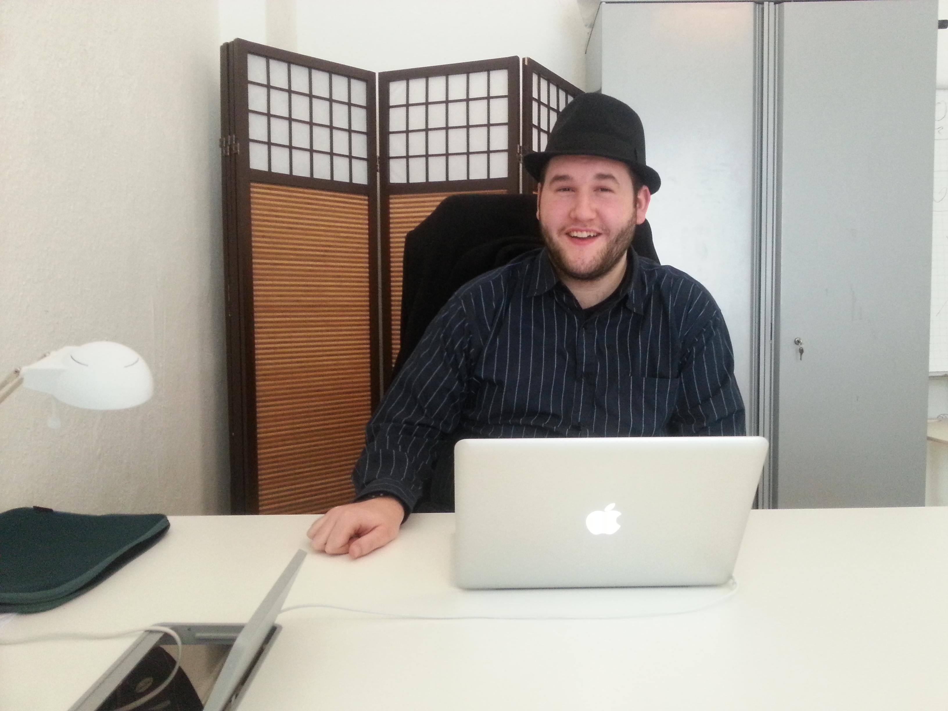 Tobias Wolf - Social Media Praktikant