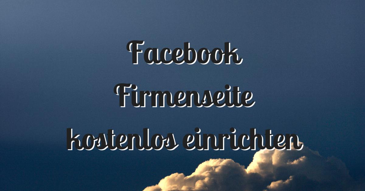 kostenlos facebook anmelden