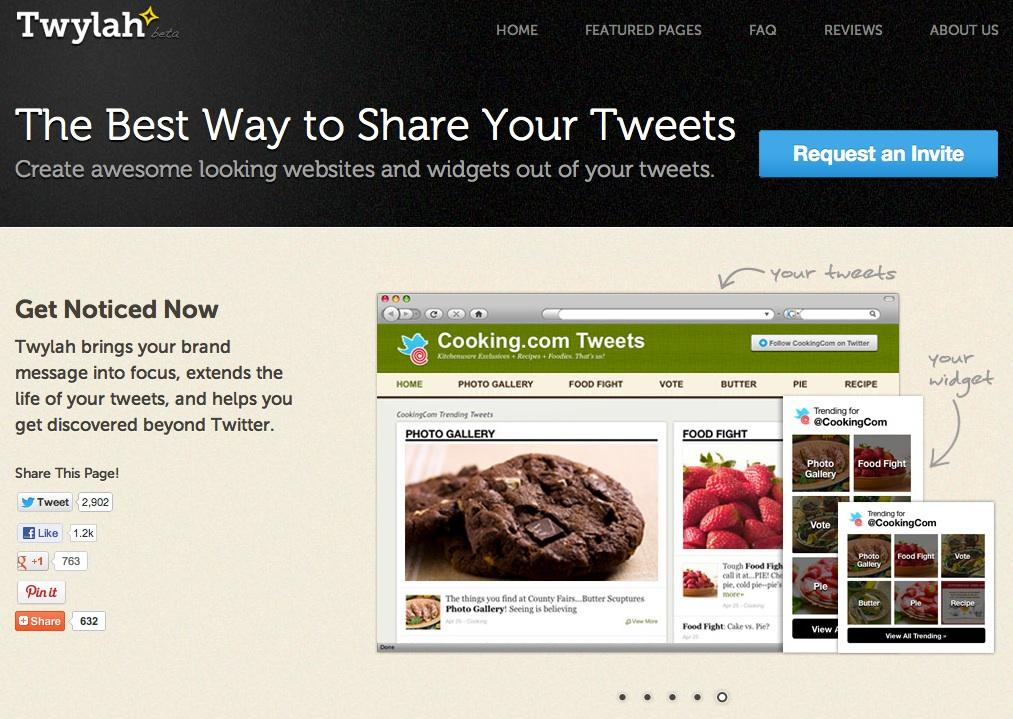 Twylah – Landing Pages für Twitter